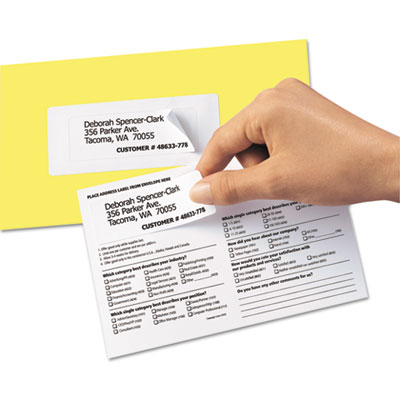 Avery® Send and Reply Piggyback Labels