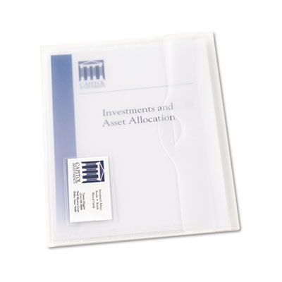 Avery® Translucent Document Wallets