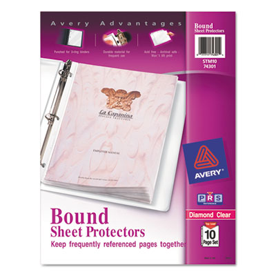Avery® Bound Heavyweight Clear Sheet Protector