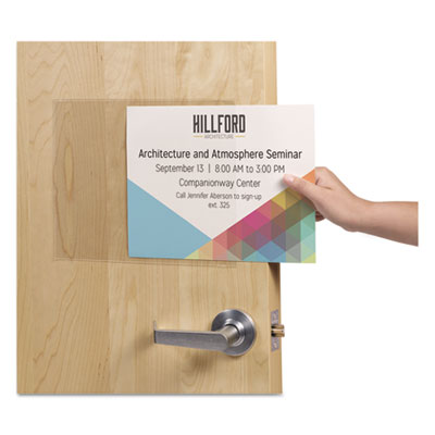 Avery® Removable Self-Adhesive Clear Display Protector