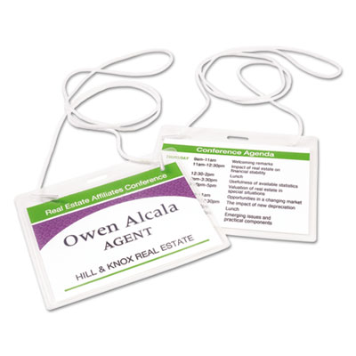 Avery® Hanging-Style Name Badges and Holders