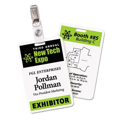 Avery® Fold & Clip Name Badges