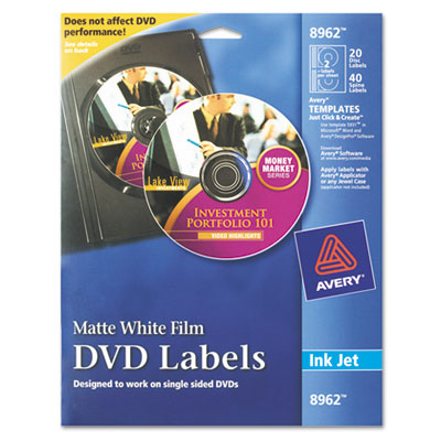 Avery® DVD Labels