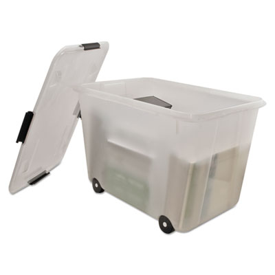 Advantus® Rolling 15-Gal. Storage Box