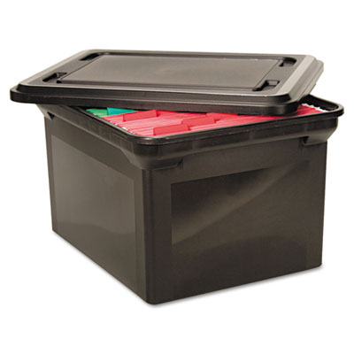 Advantus® File Tote with Lid