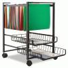 Advantus® Mobile File Cart with Sliding Baskets