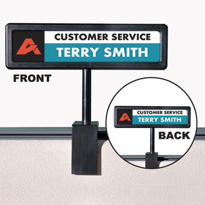 Advantus® People Pointer Cubicle Sign