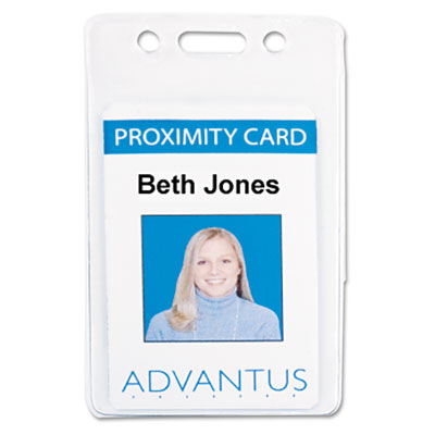 Advantus® Proximity ID Badge Holders