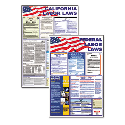 Advantus® State/Federal Labor Law Poster Combo Pack