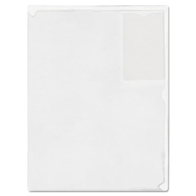 Advantus® Kleer-File Poly Folder