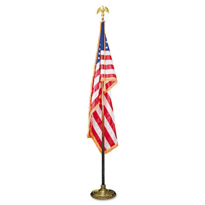 Advantus® Deluxe U.S. Flag and Staff Set