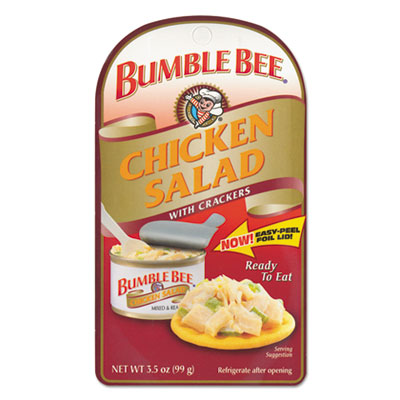 Bumble Bee® Chicken and Tuna Salad With Crackers