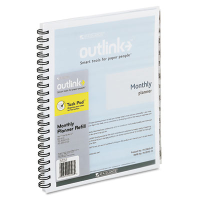 AT-A-GLANCE® Outlink® Monthly Appointment Book Refill