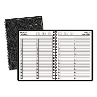 AT-A-GLANCE® Two-Person Group Daily Appointment Book