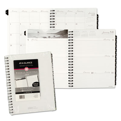 AT-A-GLANCE® Executive® Fashion Weekly/Monthly Planner Refill