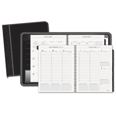 AT-A-GLANCE® Executive® Weekly/Monthly Appointment Book with Zipper Closure
