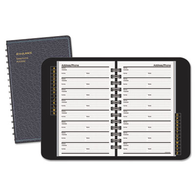 AT-A-GLANCE® Telephone/Address Book