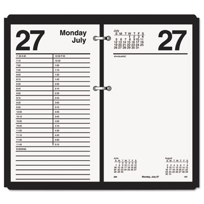 AT-A-GLANCE® Large Desk Calendar Refill