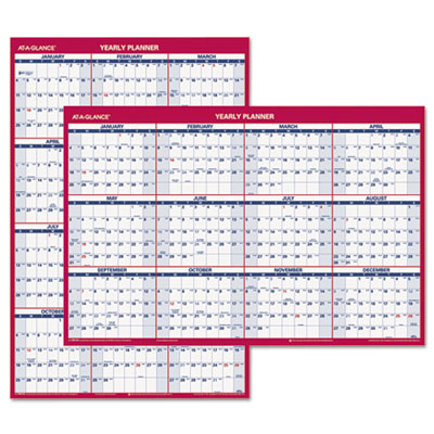 AT-A-GLANCE® Vertical/Horizontal Wall Calendar