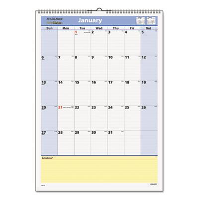 AT-A-GLANCE® QuickNotes® Wall Calendar