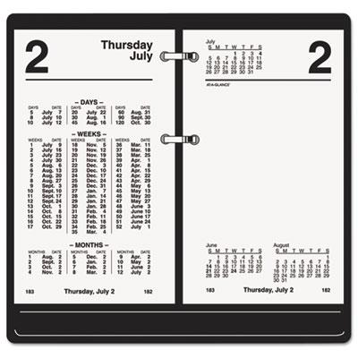 AT-A-GLANCE® Financial Desk Calendar Refill