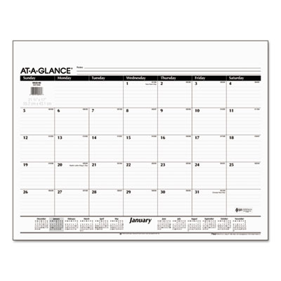 AT-A-GLANCE® Desk Pad Refill