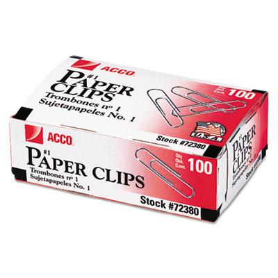 ACCO Economy Paper Clips
