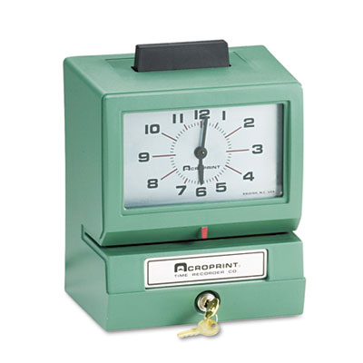 Acroprint® Model 125 Heavy-Duty Manual Print Time Recorder Ribbon