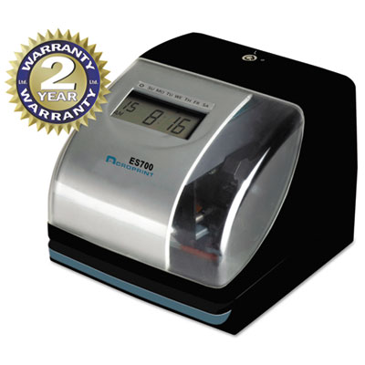 Acroprint® ES700 Atomic Electronic Time Recorder and Document Stamp