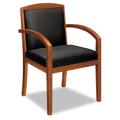 basyx® VL850 Series Leather Guest Chair