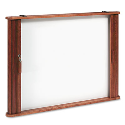 Best-Rite® Tambour Door Enclosed Cabinet