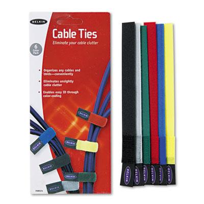 Belkin® Multicolored Cable Ties