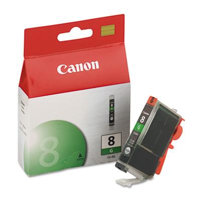 Canon® CLI8 4-Color Multipack, CLI8BK, CLI8C, CLI8G, CLI8M, CLI8R, CLI8Y Ink Tank