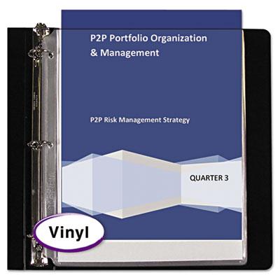 C-Line® Vinyl Sheet Protector