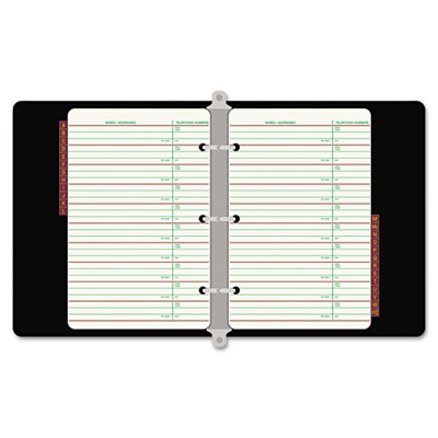 wilson jones looseleaf phoneaddress book