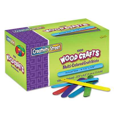 Chenille Kraft® Colored Wood Craft Sticks