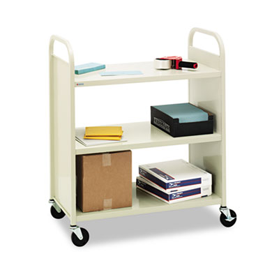 Bretford Steel Flat Shelf Cart