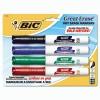 BIC® Great Erase® Grip Chisel Tip Dry Erase Marker