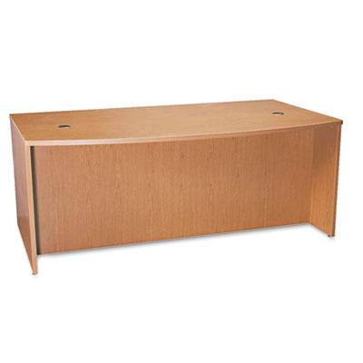 basyx® BL Laminate Series Bow Top Desk Shell