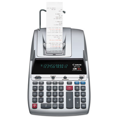 Canon® MP11DX 12-Digit Ribbon Printing Calculator