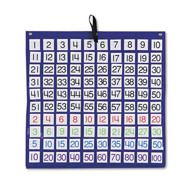 Carson-Dellosa Publishing Hundreds Pocket Chart