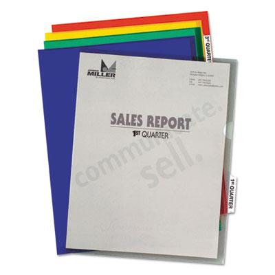 C-Line® Heavyweight Tabbed Project Folders