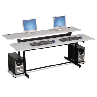 BALT® Split-Level Computer Training Table, 72 x 36
