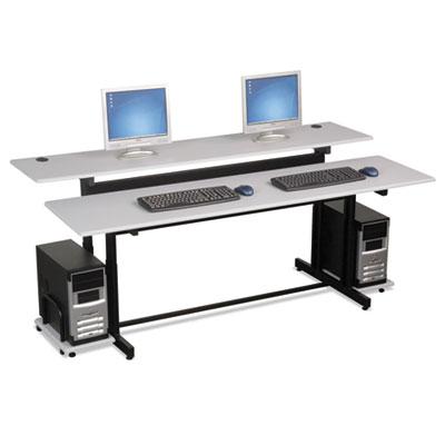 BALT® Split-Level Computer Training Table, 72 x 36