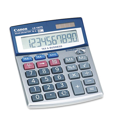 Canon® LS-100TS Portable Business Calculator