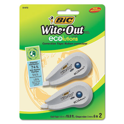 BIC® Wite-Out® Brand ECOlutions® Mini Correction Tape