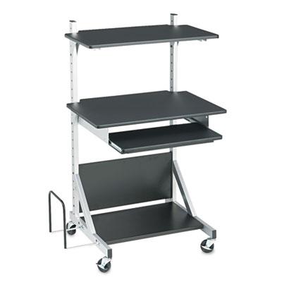 BALT® Totally Adjustable Sit-Stand Mobile Workstation