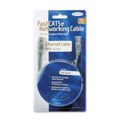 Belkin® FastCAT™ 5e No-Snag Patch Cable