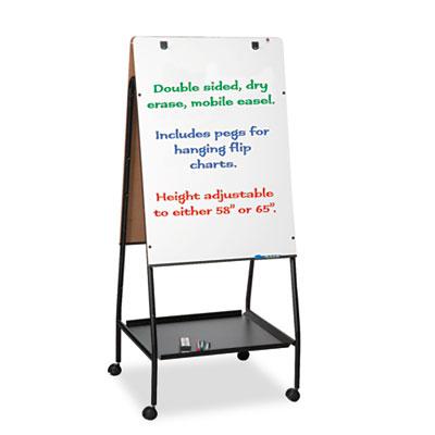 Best-Rite® Wheasel® Easel Dry Erase Board