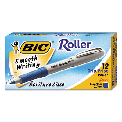 BIC® Grip Stick Roller Ball Pen